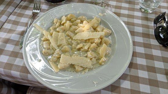 Ristorantino Rustico: Gnocchi al formaggio