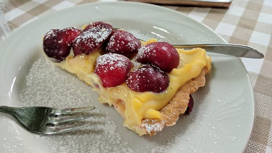 Ristorantino Rustico: Crostata di ciliegie