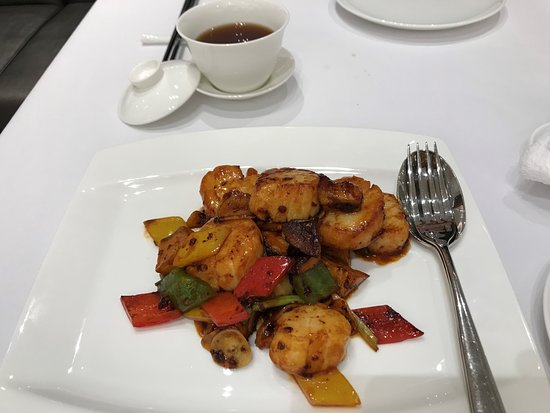 Le Chinois : Delicious scallops