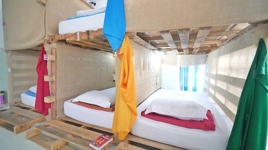 DaBlend Hostel: Our fully private bunk beds :)