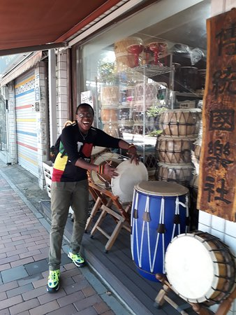 Music Store around Hostel Tommy, Seul Korea