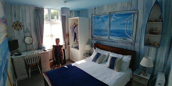 Denstone, UK: Double room in Jennifer Suite