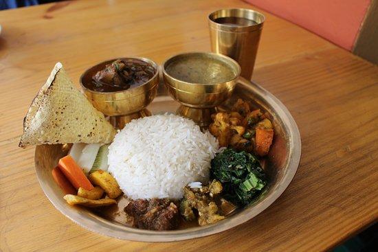 Bhojghar Restaurant & Lounge Bar : thakali khana set