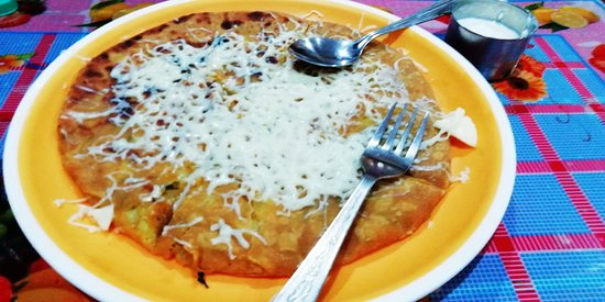 Pooja Pavbhaji And Aarjvi Snack Corner: Cheese Paratha