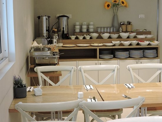 Olive Hotel Nahariya: חדר אוכל