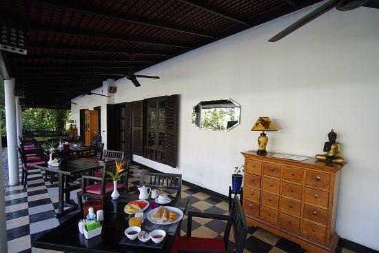 La Maison d'Angkor: Restaurant view