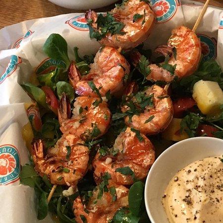 Shrimp House: Szaszłyk z krewetek