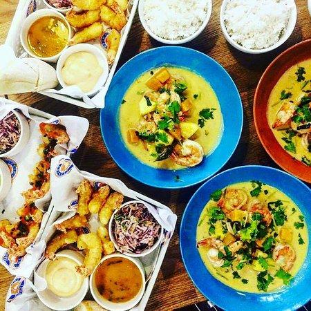 Shrimp House: Dania z karty