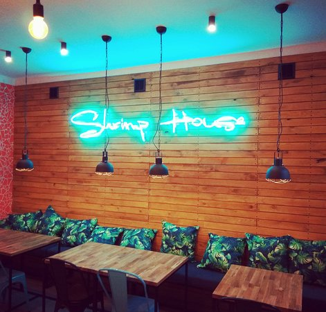 Shrimp House: Wnętrze