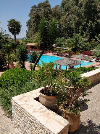 Dar Maktoub: Vue depuis la terrasse