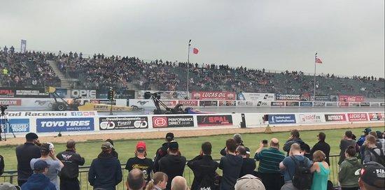 Santa Pod Raceway: 0-300mph in under 4 seconds