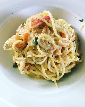 Al Ponte: Spaghettini al Granchio