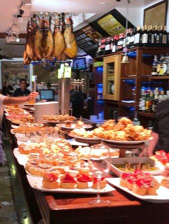 Meson Portaletas: Paella de marisco