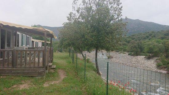 E Canicce : Terrasse vue riviere