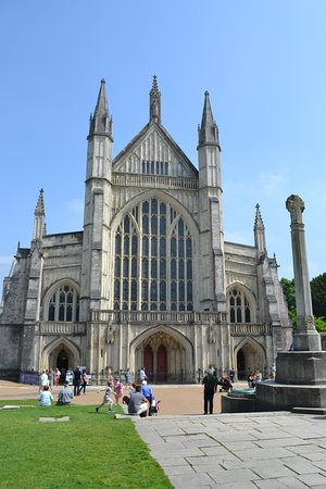 Winchester Cathedral: West door