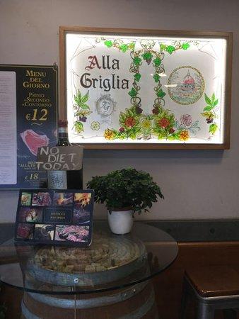 Ristorante Alla Griglia: Entrata del Ristorante..