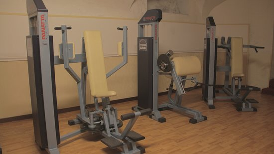 Hotel Viminale: Classical gym.
