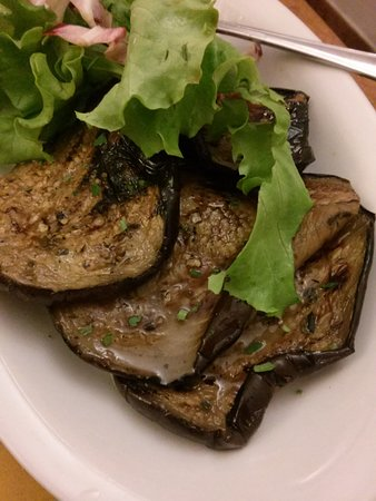 Trattoria La Gratella: grilled eggplant