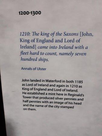 Reginald's Tower: History
