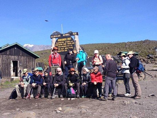Blessed Tanzania Travel: Kilimanjaro Climb Marangu Route at Horombo Hut