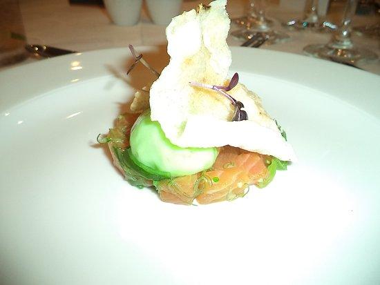 Bentley, Australië: The wasabi foam was fantastic so was the salmon