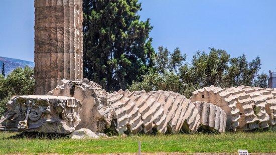奥林匹亚宙斯神庙照片