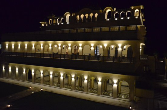 The Vijayran Palace by Royal Quest Resorts: Main building view in night