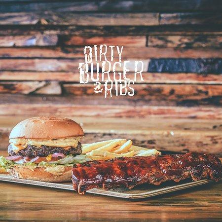 Dirty Burger & Ribs - Austurstraeti: Burger and BBQ Ribs