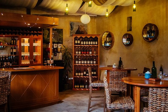 Port Alfred, Sudáfrica: The Wine Bar