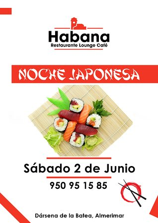Habana Restaurante Lounge Cafe: ¡Japón 🇯🇵️ está de vuelta! 🗾🔙 🍱🍣🍤