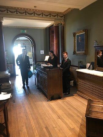 Swinton Park Hotel : Resepsjonen