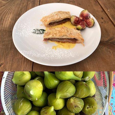 Ristorante deIl'Agriturismo Belvedere: Dal frutto al prodotto.. Tutto in casa.