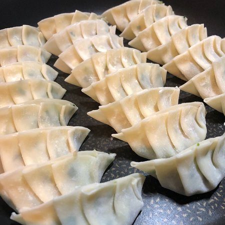 making gyoza with chef recipe creator yuca picture of yuca s