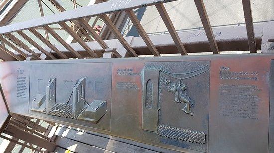 Pont de Brooklyn : Explanation of the bridge's construction.