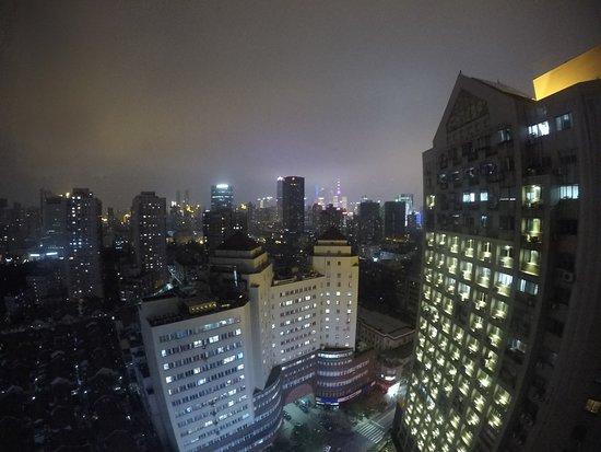 แมนดาริน รุยเดง โฮเต็ล ชางไฮ Duolun Rd. บรานช์: Skyline abends