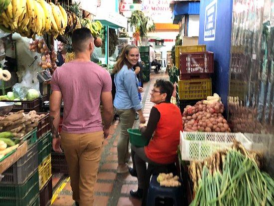 Tasty Town: Walking through the market
