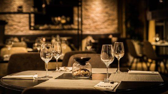 Restaurant Wei: De tafels gedekt, klaar voor uw bezoek