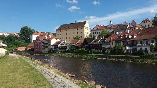 Cesky Krumlov, Czech Republic: Český Krumlov, Vltava river