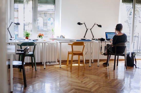 Papergirl Galerija Hub: coworking