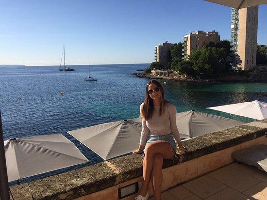 Cas Catala, Spanyol: Nunca me cansaré de estas vistas!!