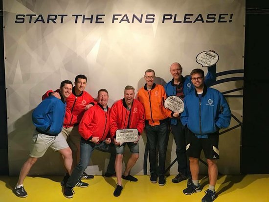 The Crystal Maze LIVE Experience, Manchester: our winning team