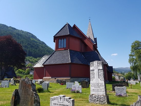 Sogndal Municipality, Norway: Stedje Church