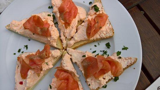 Restaurant Centru Vechi : Salmon sandwiches