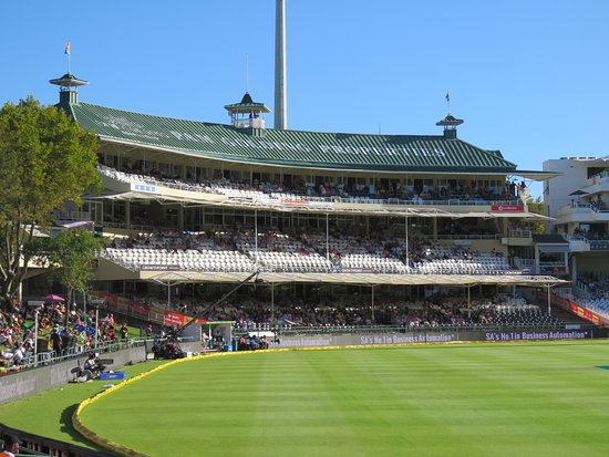 PPC Newlands Cricket: Members stand