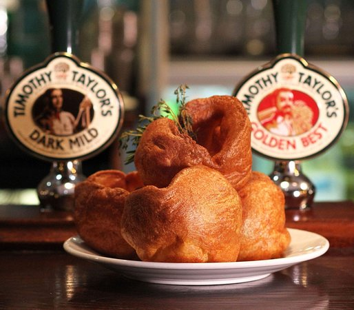 Town Hall Tavern : Our homemade Yorkshire puds...