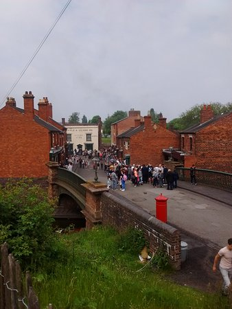 Black Country Living Museum: Busy day but still plenty of space for everyone.