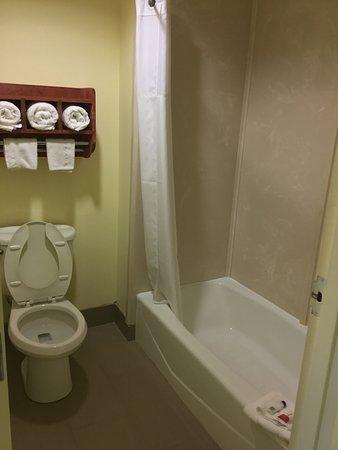 Super 8 by Wyndham Fairfield Tx: Bathroom