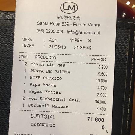 写真La Marca枚