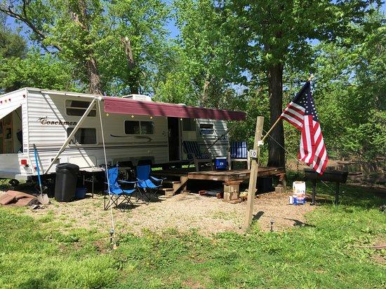 Aurora, IN: Camping!