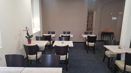 Hotel Helianthe: Salon de  l'hôtel Hélianthe à Lourdes